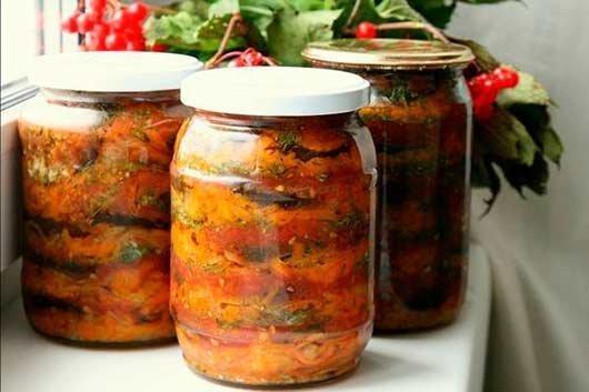 баклажаны на зиму рецепты