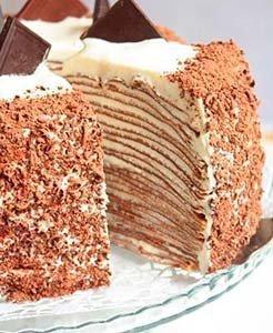 бабушкин блинный торт рецепт с фото