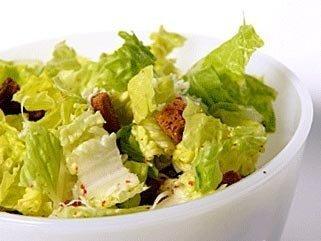Салата содержал лишь листья салата