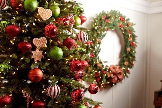 идеи украшения елки