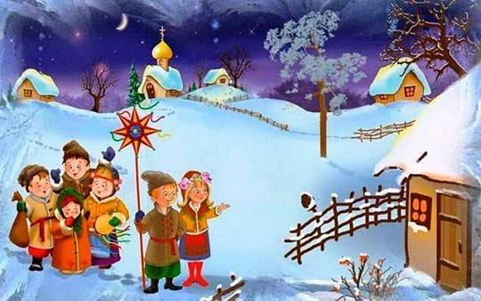 Смешные колядки на Рождество
