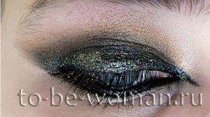 Новогодний макияж на год Змеи