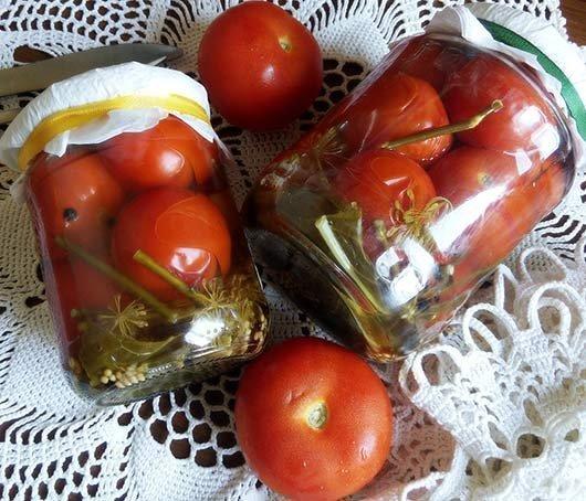 Рецепты помидор на зиму