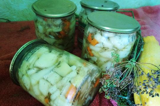 салат на зиму готов