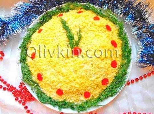 Рецепт салата Мимоза с тунцом