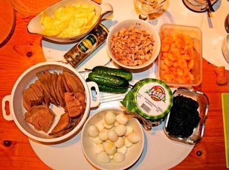 Старинный рецепт салата Оливье