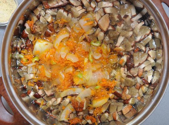 овощи отправить к грибам