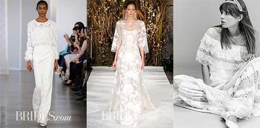 Хвост феи свадебными платьями