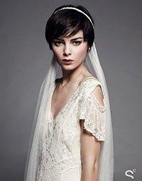 прическа невесте