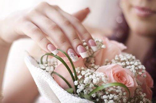 Свадебный маникюр 2018 - тенденции и фото свадебного маникюра 2018