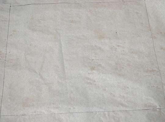 прямоугольник на листе