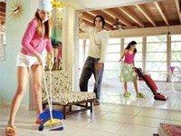 Как быстро убраться в доме?