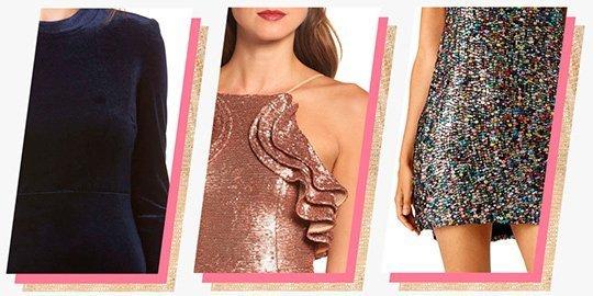 Модные акценты новогодних нарядов