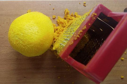 натереть цедру апельсина