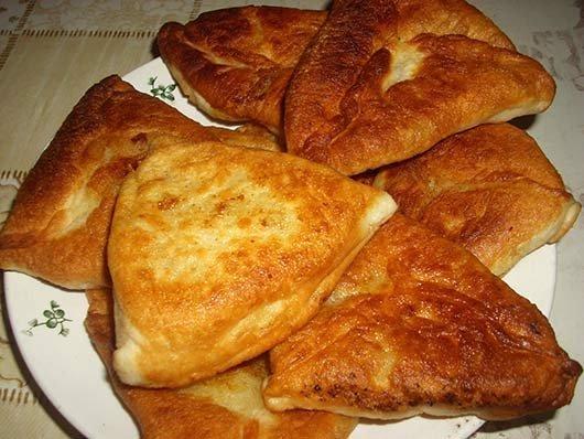 рецепт пирожков на кефире