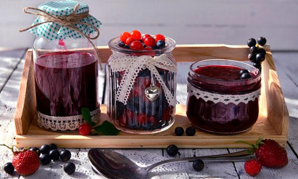 рецепт желе из черной и красной смородины